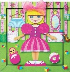 Геометрическая аппликация Моя кукла (АБ 15-108) фотография 2