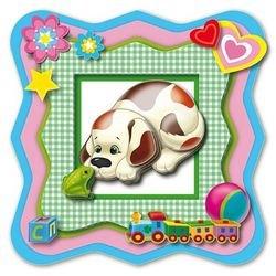 Объемная аппликация для маленьких  Любопытный пёсик (АБ 20-003) фотография 2