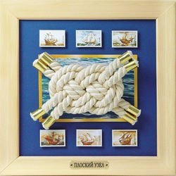 Декор-аппликация Плоский узел серия Морские узлы (АБ 41-010) фотография 2