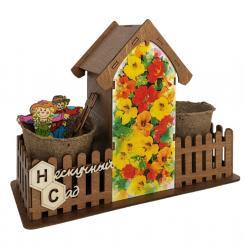 Нескучный сад Набор для выращивания цветов Настурция фотография 1