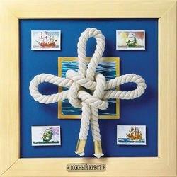 Декор-аппликация Южный крест серия Морские узлы (АБ 41-011) фотография 2