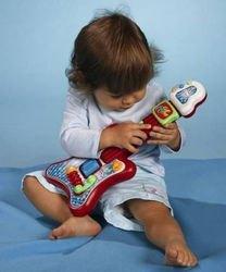 Детская Музыкальная гитара, на батарейках (4019677) фотография 2