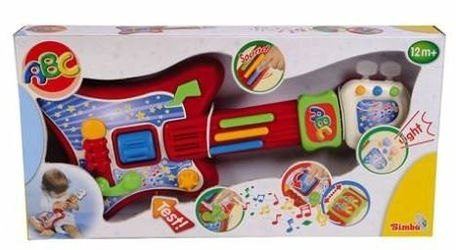 Детская Музыкальная гитара, на батарейках (4019677) фотография 3