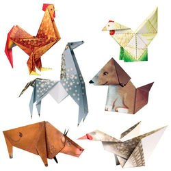 Набор фигурок-оригами Моё первое оригами. 3-я ступень (АБ 11-123) фотография 2
