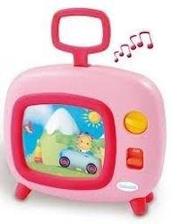 Фото Музыкальный телевизор розовый (11156)