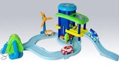 Игровой набор Мой зеленый гараж фотография 1
