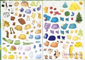Магнитная книга для малышей Забавные животные (33099) фотография 3