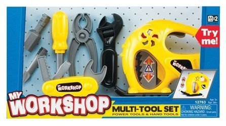 Фото Детский набор инструментов с электролобзиком Keenway (12763)