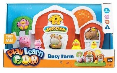 Фото Музыкальная игрушка Домик фермера (31221)