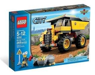 4202 Карьерный самосвал (конструктор Lego City) фотография 2
