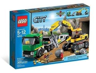 4203 Экскаватор (конструктор Lego City) фотография 2