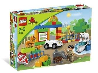 6136 Мой первый Зоопарк (конструктор Lego Duplo) фотография 2