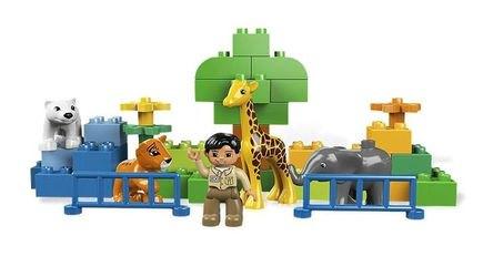 6136 Мой первый Зоопарк (конструктор Lego Duplo) фотография 5