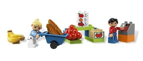 6137 Мой первый Супермаркет (конструктор Lego Duplo) фотография 3