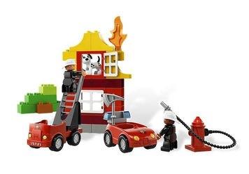6138 Мой первый Пожарный участок (конструктор Lego Duplo) фотография 3