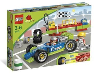 6143 Быстрый пит-стоп (конструктор Lego Duplo) фотография 2
