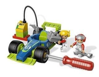 6143 Быстрый пит-стоп (конструктор Lego Duplo) фотография 6