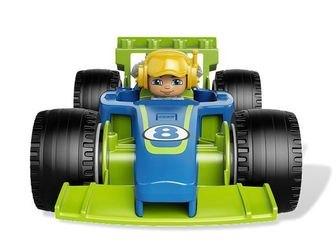 6143 Быстрый пит-стоп (конструктор Lego Duplo) фотография 7