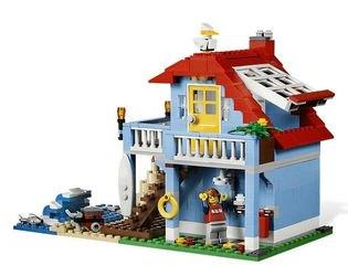 7346 Дом на морском побережье (конструктор Lego Creator) фотография 3