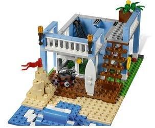 7346 Дом на морском побережье (конструктор Lego Creator) фотография 4