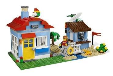 7346 Дом на морском побережье (конструктор Lego Creator) фотография 5