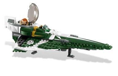 9498 Звездный истребитель джедая Саези Тиина (конструктор Lego Star Wars) фотография 3