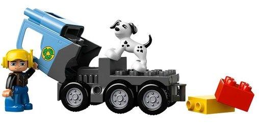 10519 Мусоровоз (конструктор Lego Duplo) фотография 3