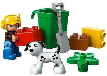 10519 Мусоровоз (конструктор Lego Duplo) фотография 4