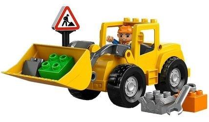 Фото 10520 Фронтальный погрузчик (конструктор Lego Duplo)