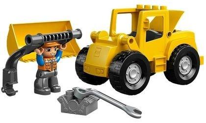 10520 Фронтальный погрузчик (конструктор Lego Duplo) фотография 3