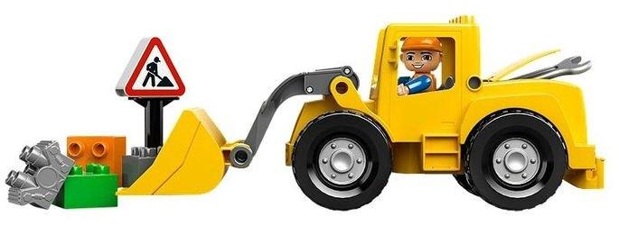 10520 Фронтальный погрузчик (конструктор Lego Duplo) фотография 4