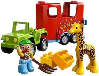 Фото 10550 Цирковой автофургон (конструктор Lego Duplo)