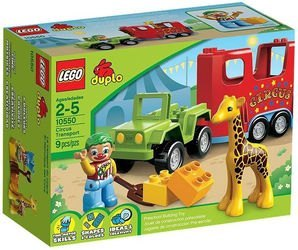 10550 Цирковой автофургон (конструктор Lego Duplo) фотография 2