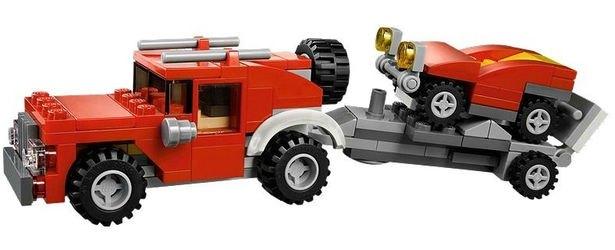31005 Строительный тягач (конструктор Lego Creator) фотография 6