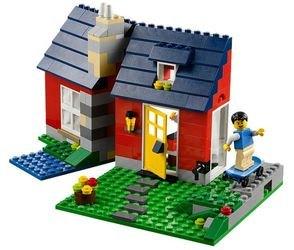 31009 Маленький коттедж (конструктор Lego Creator) фотография 4