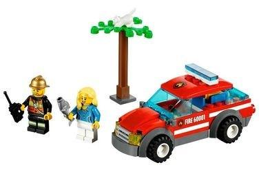 60001 Автомобиль пожарного (конструктор Lego City) фотография 1