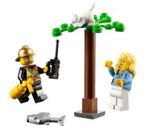 60001 Автомобиль пожарного (конструктор Lego City) фотография 3