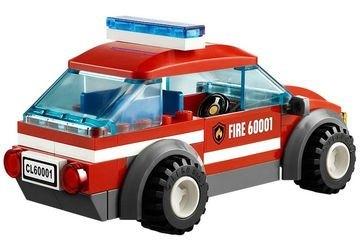 60001 Автомобиль пожарного (конструктор Lego City) фотография 4