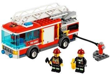 60002 Пожарная машина (конструктор Lego City) фотография 1