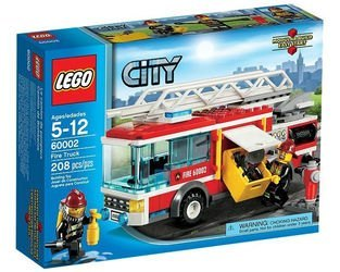 60002 Пожарная машина (конструктор Lego City) фотография 2