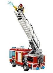 60002 Пожарная машина (конструктор Lego City) фотография 3