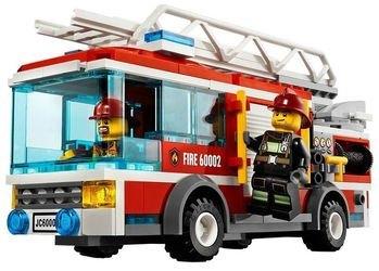 60002 Пожарная машина (конструктор Lego City) фотография 5