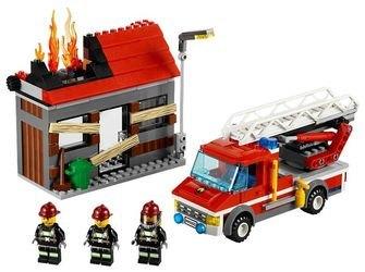 60003 Тушение пожара (конструктор Lego City) фотография 1