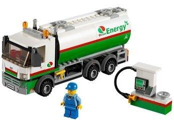 60016 Бензовоз (конструктор Lego City) фотография 1