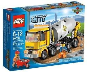 60018 Бетономешалка (конструктор Lego City) фотография 2