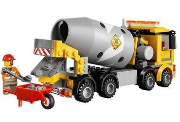 60018 Бетономешалка (конструктор Lego City) фотография 4