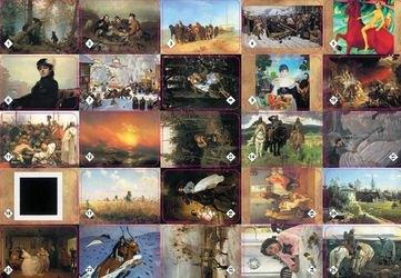 Настольная игра Мемо Картины русских художников фотография 2