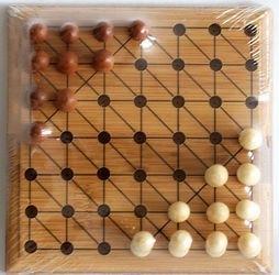 Фото Настольная игра Уголки деревянная