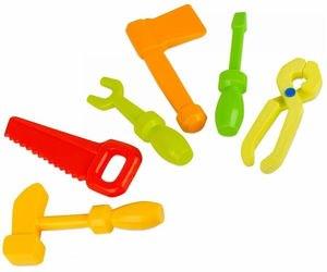 """Фото Детский набор инструментов """"Маленький мастер"""" в сетке (9062)"""