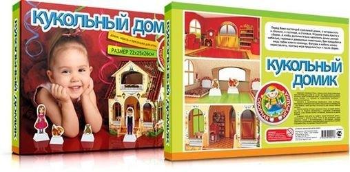 Сборная игрушка Кукольный домик фотография 5